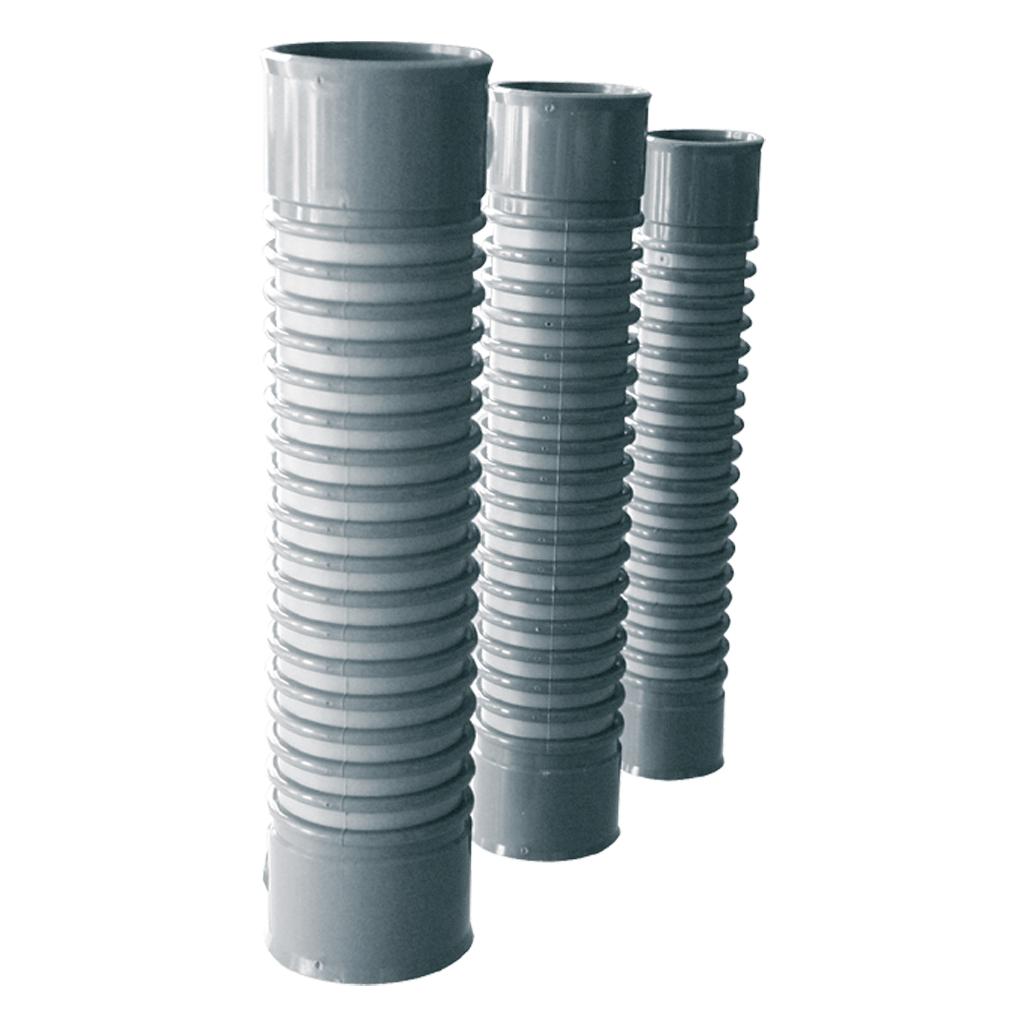 Evacuaci n de agua soluciones para peque a evacuaci n en - Tubo flexible pvc ...